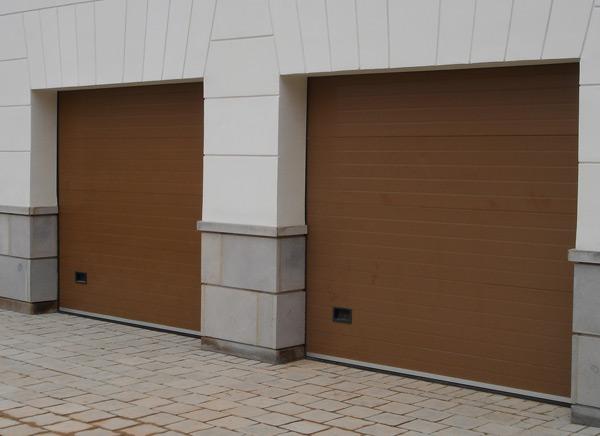 Секционные гаражные ворота в Видном